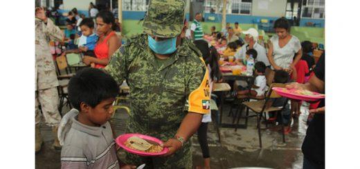 Soldado del Ejercito Mexicano en plan DN III